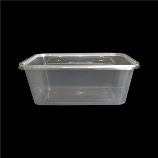 1000ml eco friendly disposable plastic fast food packaging box containers for microwave